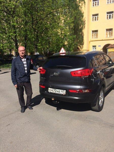 Аверин Владимир Александрович, Kia Sportage